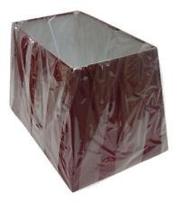 Pantallas rojos de metal para lámparas de interior
