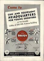 1958 PAPER AD Daisy BB Gun Air Rifle Super Smoke Guns of the West