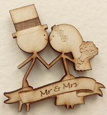 Wedding Couple Magnet - anniversary / wedding personalised gift