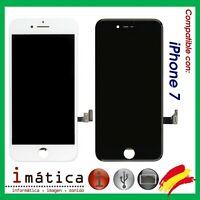 PANTALLA LCD IPHONE 7 COLOR NEGRA BLANCA COMPLETA LCD + TACTIL 4.7 4,7 DISPLAY