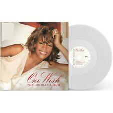 WHITNEY HOUSTON ONE WISH THE HOLIDAY ALBUM VINYL NEW LIMITED CHRISTMAS WHITE LP!