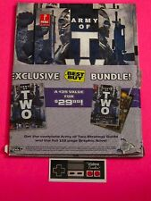 Army of Two Best Buy Exclusive Graphic Novel & Strategy Guide Bundle 2 Books