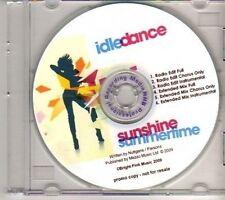 (CX401) Idle Dance, Summertime Sunshine - 2009 DJ CD