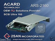 "68 Pin ACARD ARS-2160 Ultra160 SCSI to SATA II adapter for 2.5"" SATA HDD"