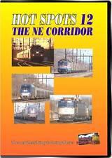 Hot Spots 12 DVD Northeast Corridor Higball NEW NE Amtrak AEM7 electric Acela