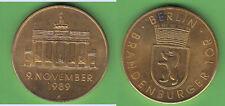 Brandenburger Tor Goldbronzemedaille ca. 33,52 g ca. 40 mm sichtbarer Fleck