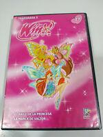 Winx Club Tenporada 3 Episodios 1 y 2 Bale de la Princesa Marca de Valtor - DVD