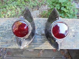 Franay Bentley Mk VI Cabriolet 1947 Joseph Lucas Ltd ST461/1 tail lights