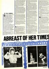 7/2/81Pgn20/21 Article With Pictures: Bette Midler 'abreast Of Her Times'