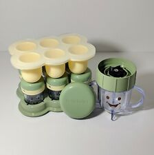 Magic Baby Bullet Replacement Pieces - Storage Tray Lids Silicon Tray Blend Cup