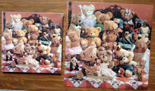 Vintage SPRINGBOK 500+ PIECE PUZZLE The Best Of Friends TEDDY BEARS