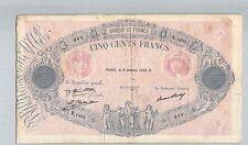 FRANCE 500 FRANCS BLEU ET ROSE 9 OCTOBRE 1930 K.1405 N° 35109964 PICK 66L