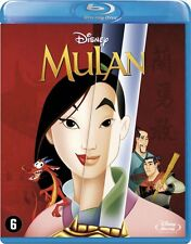 BLU-RAY -  MULAN  - (DISNEY)  ANIMATON  -  1998  -  NEW SEALED