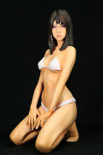 Lisa young Japanese girl sexy realistic 1/4 unpainted figure resin model kit
