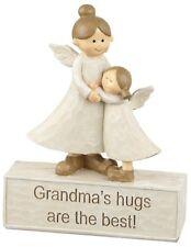 Grandma Hugs Angel Figures Ornament, Special Gift