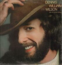 Dennis William Wilson(Vinyl LP)One Of Those People-Elektra-6E-230-US-19-VG+/M