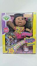 Cabbage Patch Kids Twinkle Toes African American Doll Toy- Brown Hair/Eyes & DVD
