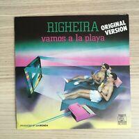 "Righeira - Vamos a la Playa - Vinile 45giri 7"" - 1983 Ariola Holland"
