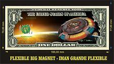 Electric Light Orchestra IMAN BILLETE 1 DOLLAR BILL MAGNET