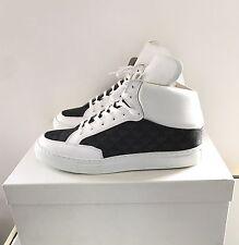 Emporio Armani White Trainers Size UK 7 EU 41 Brand New in Box Mens Sneakers