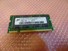 Micron Genuine 256MB DDR 266MHz  PC2100 CL2.5  Laptop Memory RAM Card