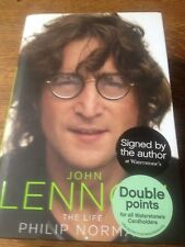 JOHN LENNON THE LIFE - BRAND NEW - SIGNED BY THE AUTHOR IN LIVERPOOL