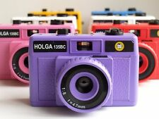USD - HOLGA 35mm 135 format Film Camera 135BC / BC Purple  Lomo