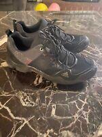 Adidas Mens Terrex AX2 Traxion Sz 9.5 M  Black Athletic Trail Running Shoes