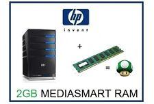 2GB (1x2GB) Memory Ram Upgrade HP Compaq MediaSmart EX470, EX475 & LX195 Server