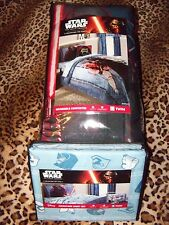 Star Wars The Force Awakens Reversible Twin Size Comforter AND Sheet Set NIP
