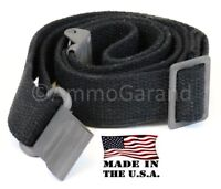 AmmoGarand Web Sling for USGI M1 Garand Rifles & Shotguns Black Cotton US Made