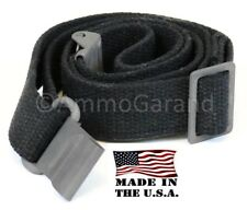 AmmoGarand Web Sling for Usgi M1 Garand Rifles & Shotguns Black Cotton Us Made