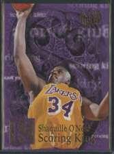 1996-97 FLEER ULTRA SCORING KINGS SHAQUILLE O'NEAL