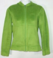 c81daa2f Patagonia Women XS Zip Hoodie Fleece Jacket Green Hiking Trail Casual b23