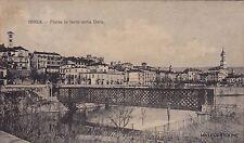 # IVREA: PONTE IN FERRO SULLA DORA  1907