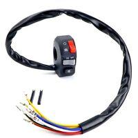 "Motorcycle Handlebar Right Side Switch 7/8"" Kill OnOff Starter Button ATV Custom"