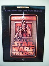 Vintage Special Edition The Stars Wars Trilogy Music Songbook For Tenor Sax