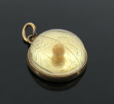 Amulet of Faith Grain of Mustard 14K Gold Pendant Charm