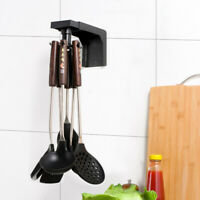 360° Wall Mounted Rotating Hooks Coat Hanger Kitchen Accessories Storage Hooks