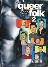 COFFRET 5 DVD QUEER AS FOLK INTÉGRALE DE LA SAISON 2 GALE HAROLD, THEA GILL