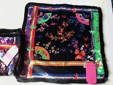 VERSACE FOR H&M  COTTON VELVET DECORATIVE PILLOW CASE - NWT -  a set of 2