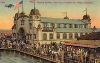 Postcard Dancing Pavilion and Tent City in Coronado, San Diego California~118576