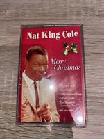 Nat King Cole - Merry Christmas - Rare Cassette Tape