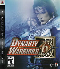 Dynasty Warriors 6 (2008) Brand New Factory Sealed USA PlayStation 3 PS3 Game