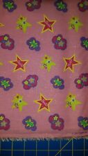 Glitter Barbie fabric by Springs Creative Products Group