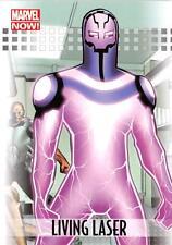 LIVING LASER / 2013 Marvel Now! (Upper Deck 2014) BASE Trading Card #53