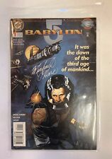 Babylon 5 Dc Comic Jan 1995 #1 First Issue Inscribed By Michael O'Hare