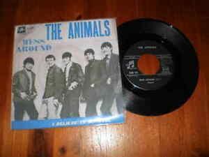 THE ANIMALS - Mess Around / I believe to my soul - Disco 45 giri - COLUMBIA-1966