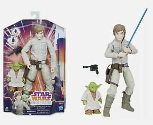 Star Wars Forces of Destiny Luke Skywalker and Yoda NEW