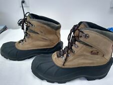 Sorel Cold Mountain Boots Men's NM 1207-250 Size USA 9 Thinsulate Insulation UK8